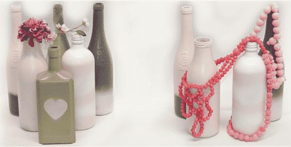diy flessen decoratie tip mooi verouderen