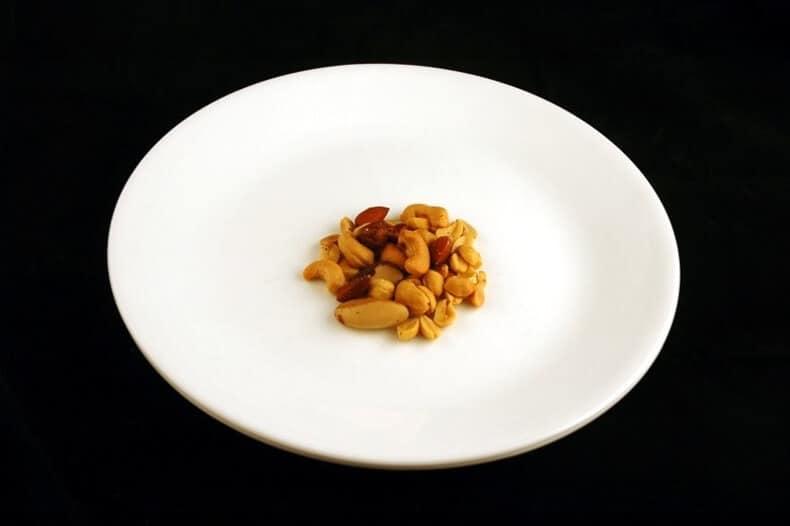 200 kcal - nootjes