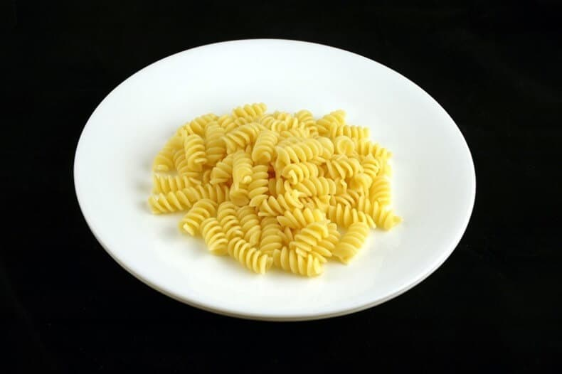 200 kcal - witte pasta